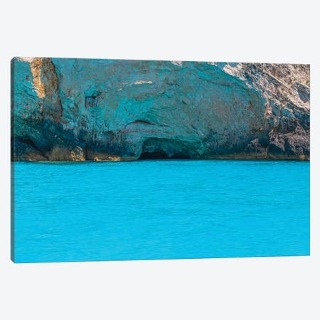 Kefalonia Blue Canvas Print #VNC184} by Alexandre Venancio Canvas Artwork