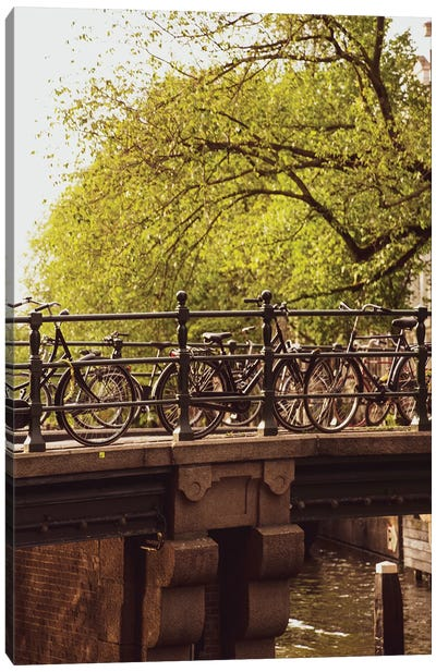 Amsterdam Bridge Canvas Art Print