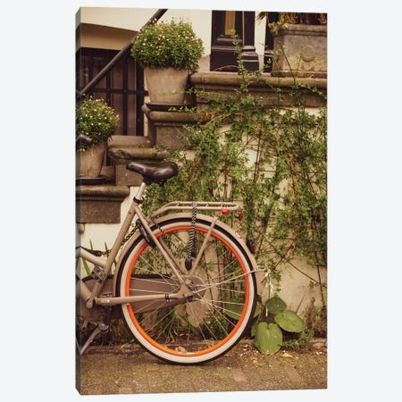Bike In Ams Canvas Print #VNC195} by Alexandre Venancio Canvas Art Print