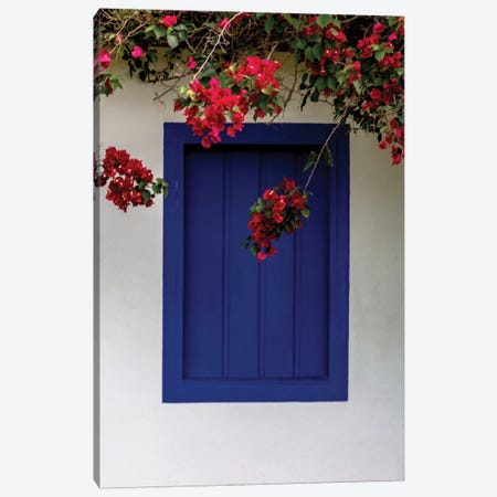 Bahia Blue Window Canvas Print #VNC197} by Alexandre Venancio Art Print
