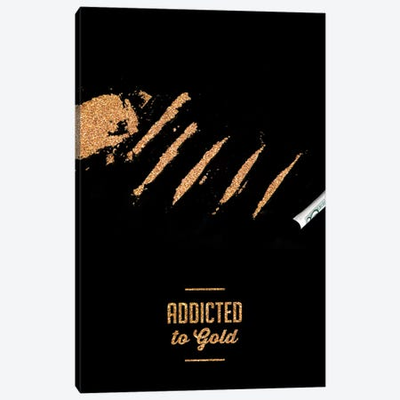 Addicted To Gold Canvas Print #VNC1} by Alexandre Venancio Art Print
