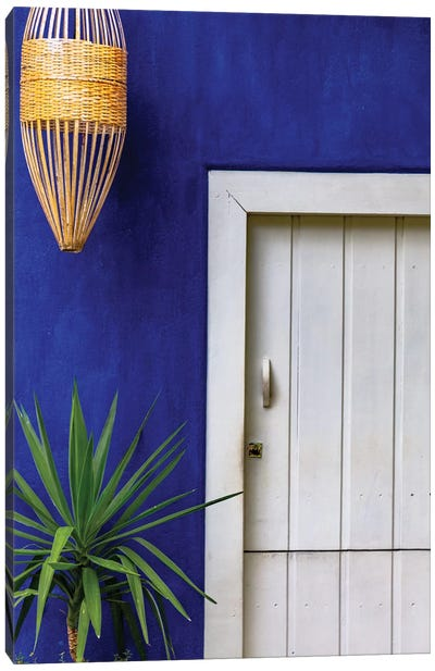 Blue In Bahia Canvas Art Print