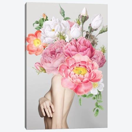Woman In Flowers Canvas Print #VNC217} by Alexandre Venancio Canvas Art