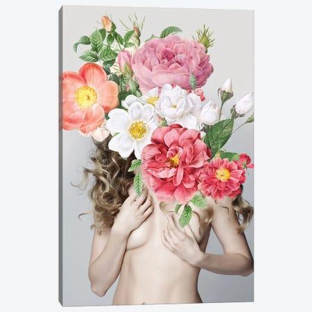 Woman In Flowers II Canvas Print #VNC219} by Alexandre Venancio Canvas Art Print