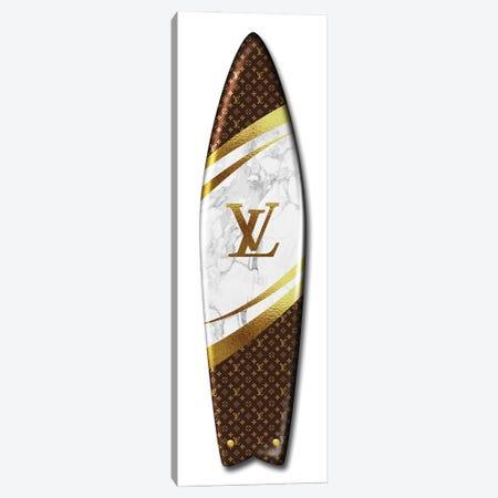 Surfboard Lv Canvas Print #VNC232} by Alexandre Venancio Art Print