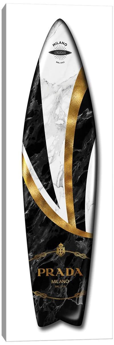 Fashion Surfboard Prada Canvas Art Print