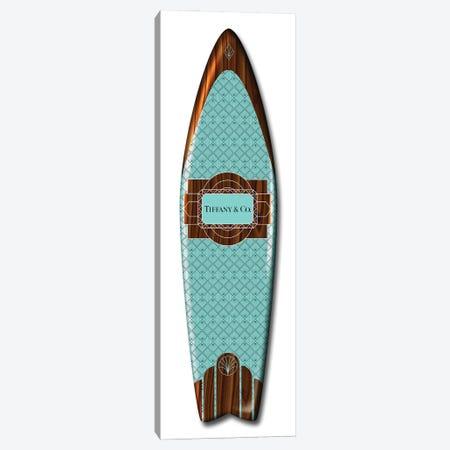 Fashion Surfboard Tiffany Canvas Print #VNC237} by Alexandre Venancio Canvas Art