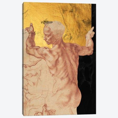 Masterpieces Remix Michelangelo I Canvas Print #VNC242} by Alexandre Venancio Canvas Wall Art