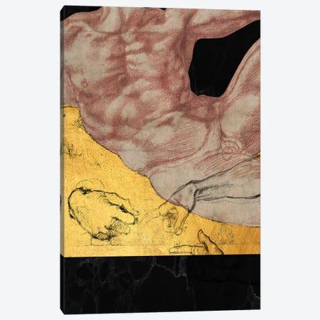 Masterpieces Remix Michelangelo II Canvas Print #VNC243} by Alexandre Venancio Canvas Art