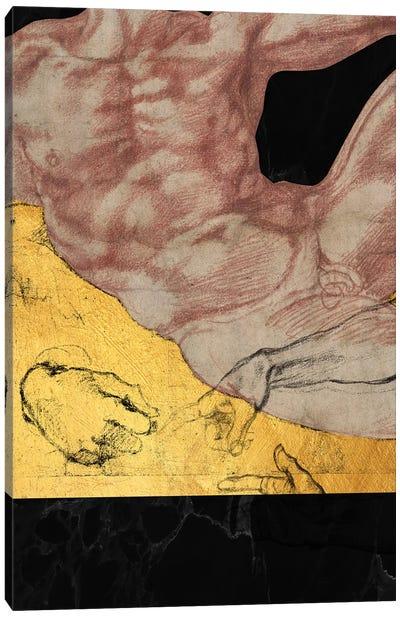 Masterpieces Remix Michelangelo II Canvas Art Print