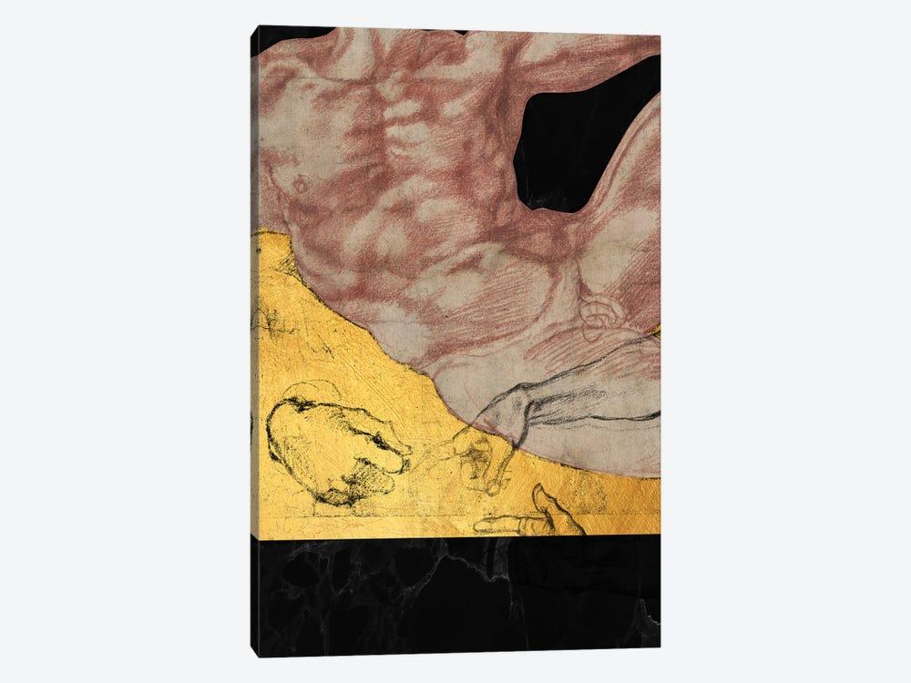 Masterpieces Remix Michelangelo II by Alexandre Venancio 1-piece Canvas Art Print