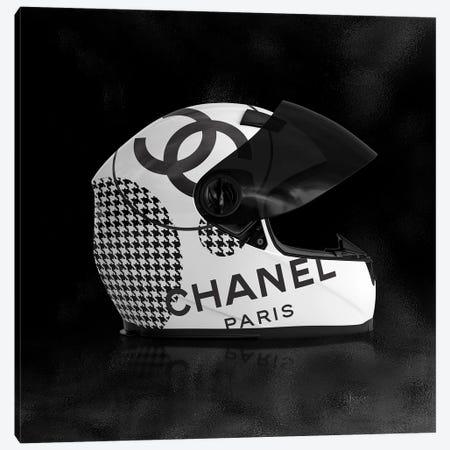 Chanel Helmet Canvas Print #VNC255} by Alexandre Venancio Canvas Artwork