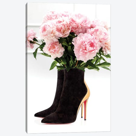 Louboutin Vase Canvas Print #VNC257} by Alexandre Venancio Canvas Artwork