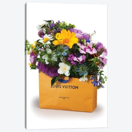 LV Bag Vase Canvas Print #VNC258} by Alexandre Venancio Canvas Art Print