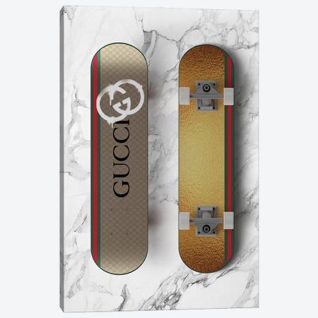 Gucci Skateboard Canvas Print #VNC260} by Alexandre Venancio Canvas Artwork