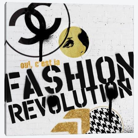 Chanel Graffiti Canvas Print #VNC261} by Alexandre Venancio Canvas Wall Art