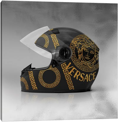 Versace Helmet Canvas Art Print