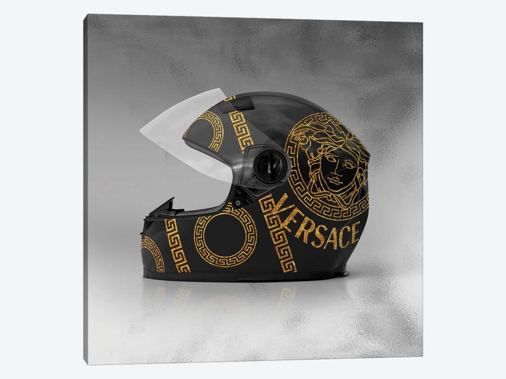 Versace Helmet by Alexandre Venancio 1-piece Canvas Print