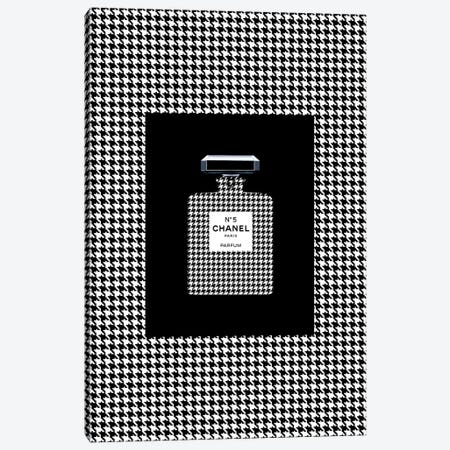 Chanel 5 Pied de Coq Canvas Print #VNC26} by Alexandre Venancio Canvas Art