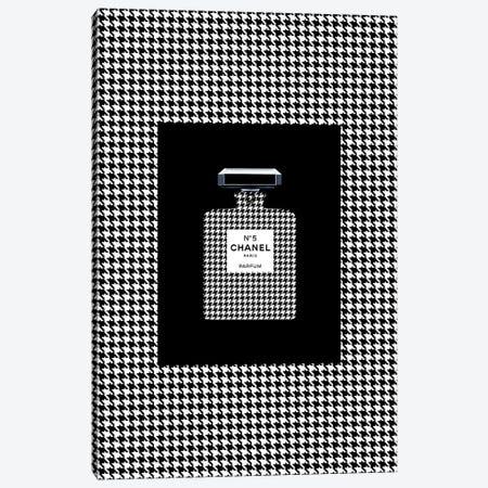 Chanel 5 Pied de Coq Canvas Print #VNC26} by Alexandre Venancio Canvas Art