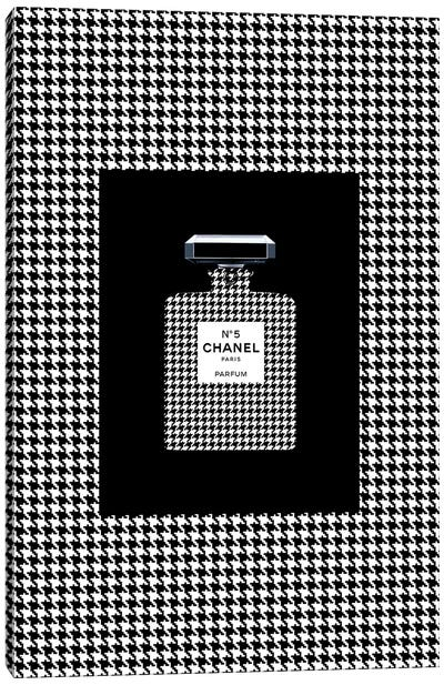 Chanel 5 Pied de Coq Canvas Art Print