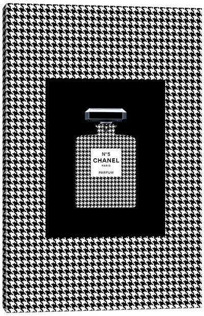 Chanel 5 Pied de Coq Canvas Art Print