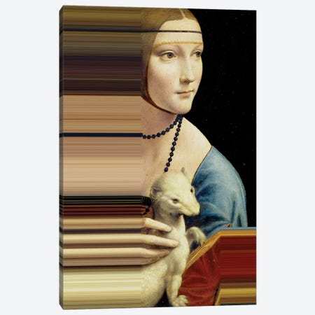 Desconstructed Masterpiece Davinci II Canvas Print #VNC275} by Alexandre Venancio Canvas Art