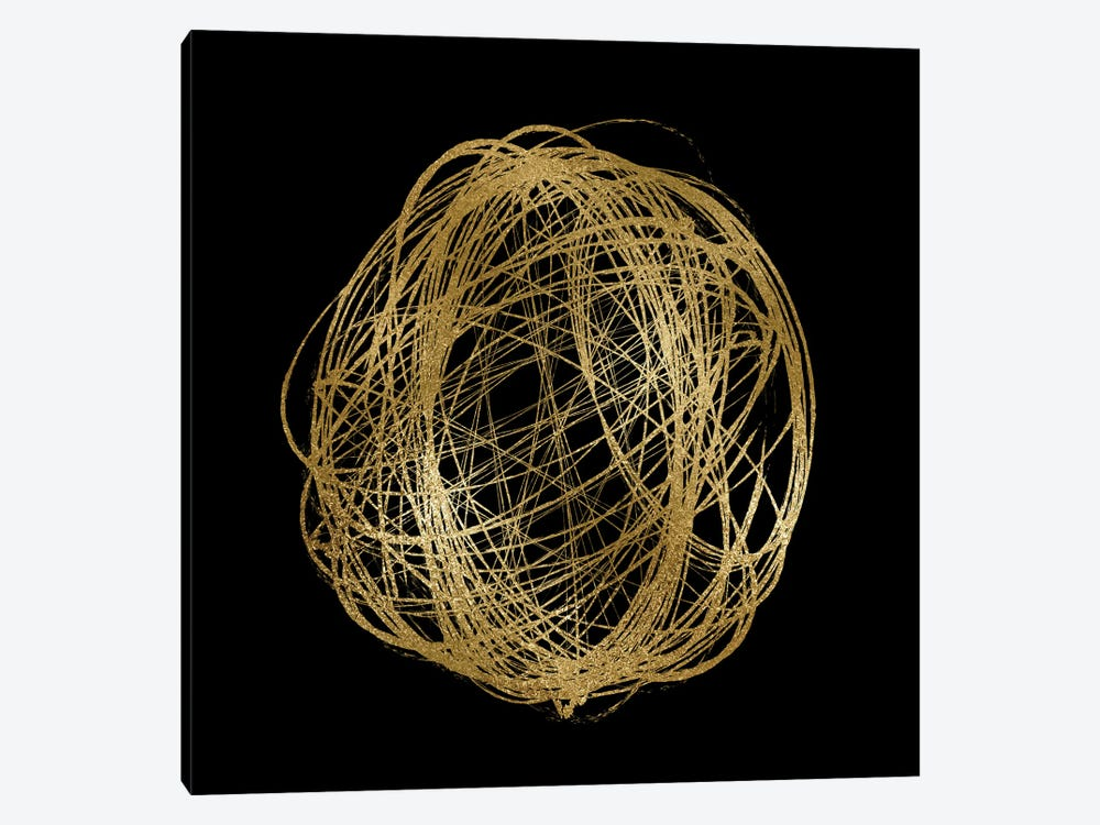 Circular Composition I by Alexandre Venancio 1-piece Canvas Artwork