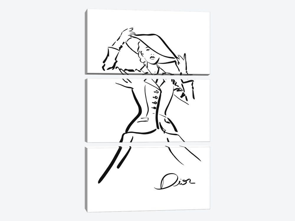 Dior by Alexandre Venancio 3-piece Art Print