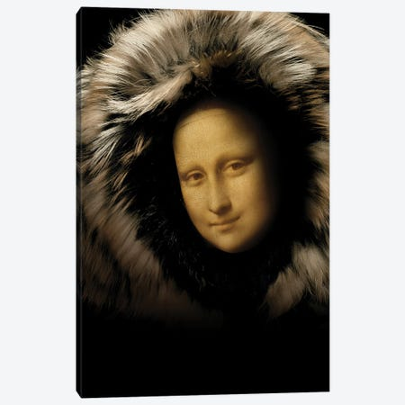 Mona Lisa Canvas Print #VNC287} by Alexandre Venancio Canvas Art Print
