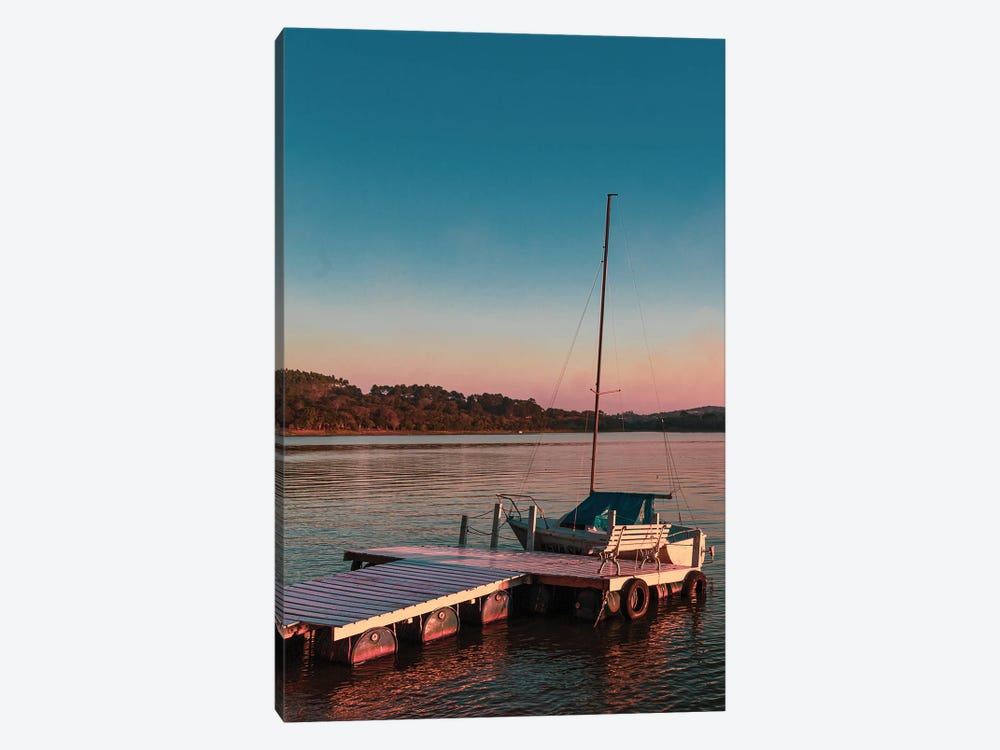 The Lake At Sunset by Alexandre Venancio 1-piece Canvas Wall Art