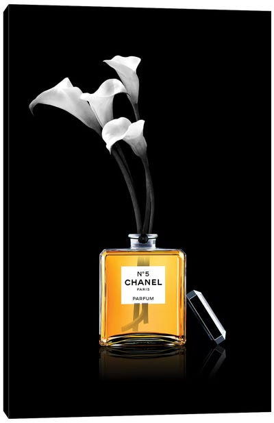 Chanel Vase Canvas Art Print
