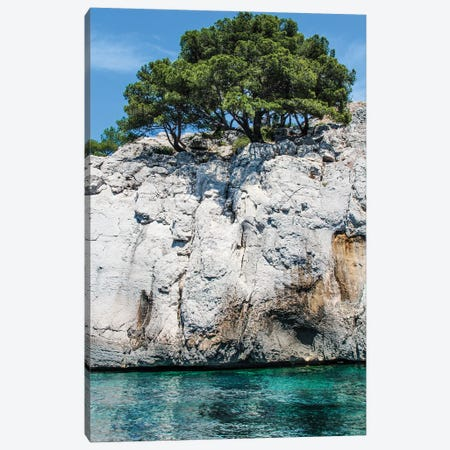 France Provence Cassis Sea Pair I Canvas Print #VNC303} by Alexandre Venancio Canvas Print
