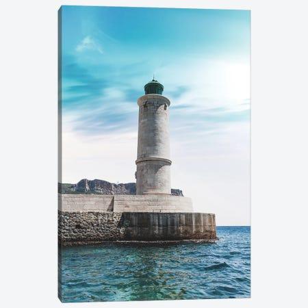 France Provence Lighthouse Canvas Print #VNC310} by Alexandre Venancio Canvas Wall Art