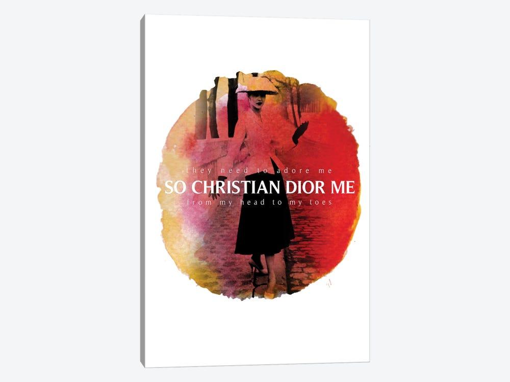 Christian Dior Me by Alexandre Venancio 1-piece Canvas Art