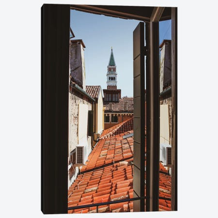 From My Window In Venice Canvas Print #VNC330} by Alexandre Venancio Canvas Wall Art