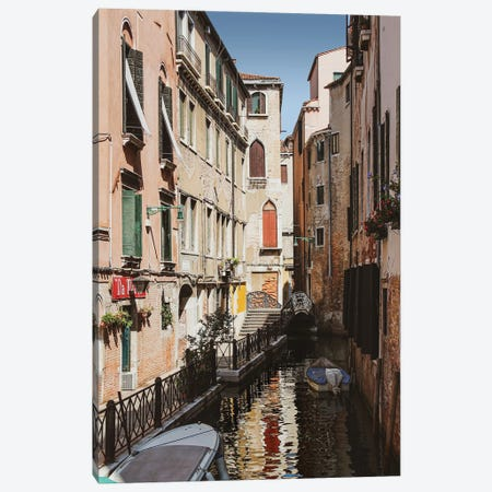 Venice Canal II Canvas Print #VNC331} by Alexandre Venancio Canvas Art