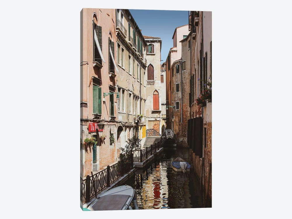 Venice Canal II by Alexandre Venancio 1-piece Canvas Art Print