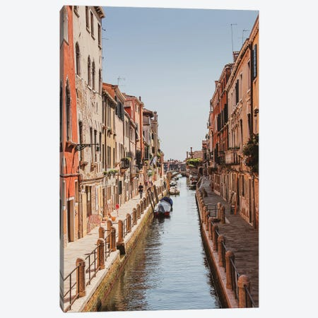Venice Street Canvas Print #VNC333} by Alexandre Venancio Canvas Wall Art