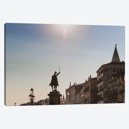 Venice Sunset Canvas Print #VNC339} by Alexandre Venancio Canvas Wall Art