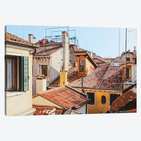 Venice From The Window Canvas Print #VNC340} by Alexandre Venancio Art Print