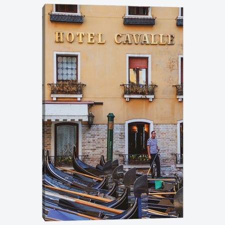 A Hotel In Venice Canvas Print #VNC341} by Alexandre Venancio Canvas Art Print