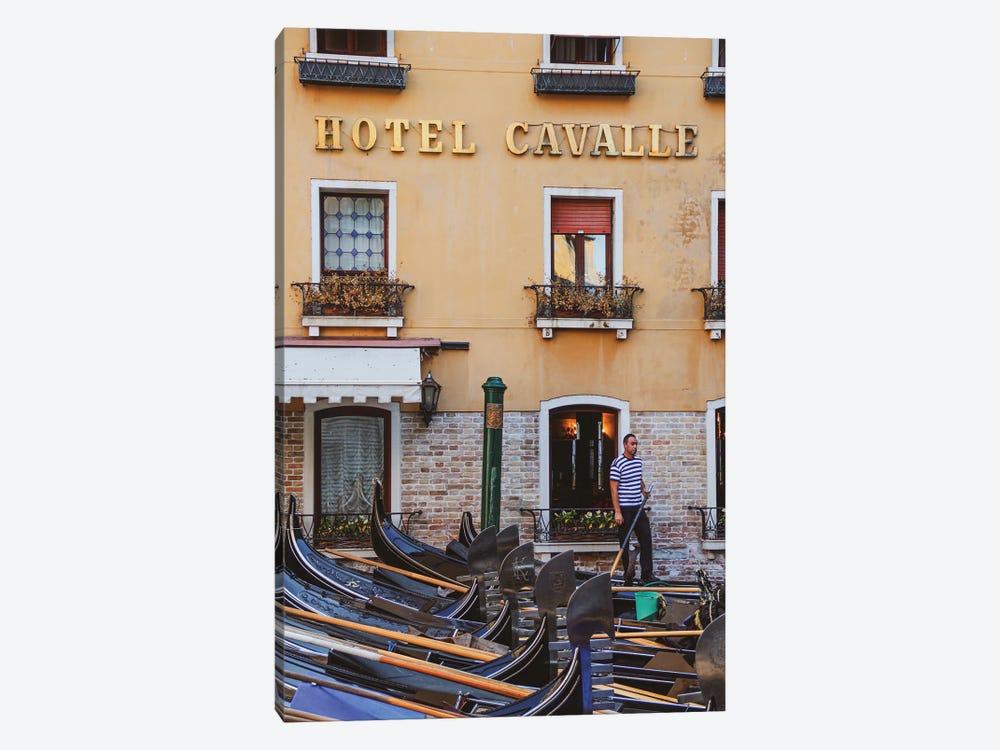 A Hotel In Venice by Alexandre Venancio 1-piece Canvas Art