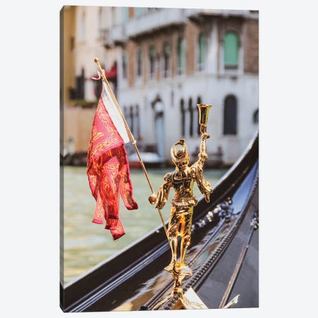 Venice Gondola Canvas Print #VNC344} by Alexandre Venancio Canvas Artwork