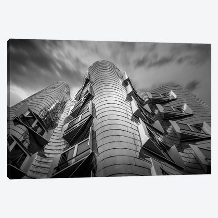 Germany Dusseldorf Frank Gehry Canvas Print #VNC352} by Alexandre Venancio Canvas Art