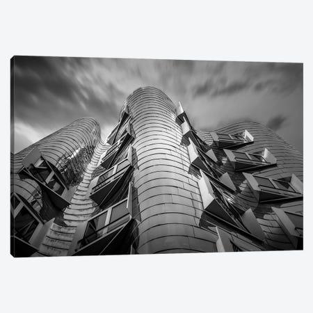 Germany Dusseldorf Frank Gehry Canvas Print #VNC352} by Alexandre Venancio Canvas Art