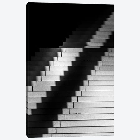 Germany Dusseldorf Port Stairs Canvas Print #VNC353} by Alexandre Venancio Canvas Artwork