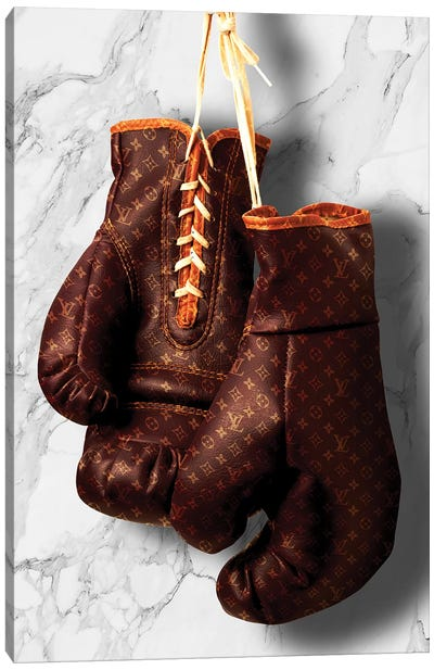 LV Boxing Canvas Art Print
