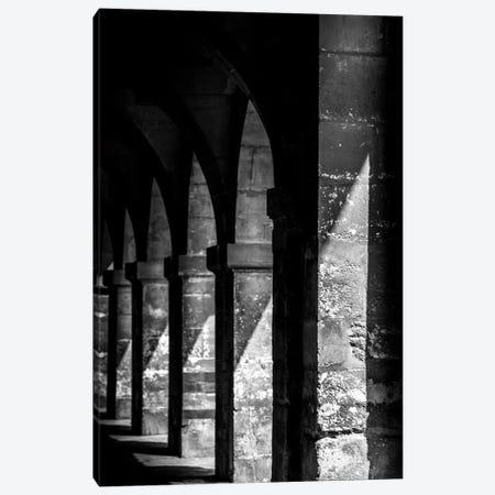 Paris In Black And White Shadows Canvas Print #VNC363} by Alexandre Venancio Canvas Print