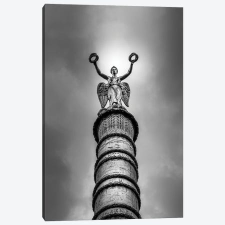 Paris In Black And White Canvas Print #VNC367} by Alexandre Venancio Canvas Artwork